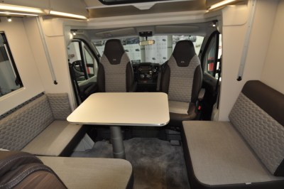 2021 Adria Matrix Supreme 670SL lounge