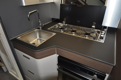 2021 Adria Matrix Supreme 670SL kitchen