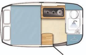 Barefoot caravan floorplan