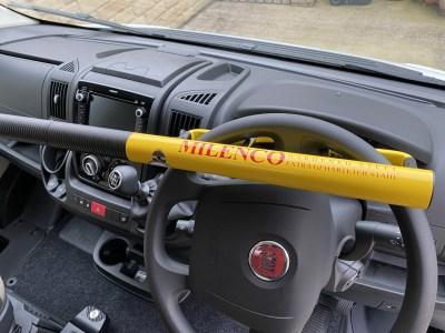 Milenco commercial motorhome steering wheel lock
