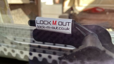 motorhome or caravan window lock