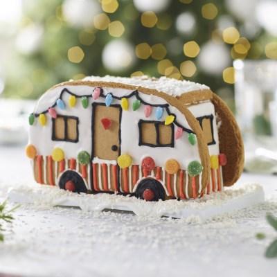 lakeland gingerbrad campervan Christmas gift idea
