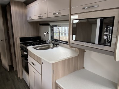 2021 Coachman Acadia 830 Xcel kitchen