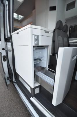 Volkswagen Grand California 680 motorhome kitchen