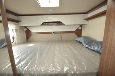 Hymer B-MC I 550 WhiteLine motorhome bed