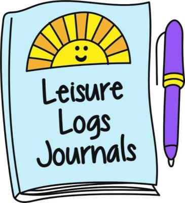 Leisure logs journal logo
