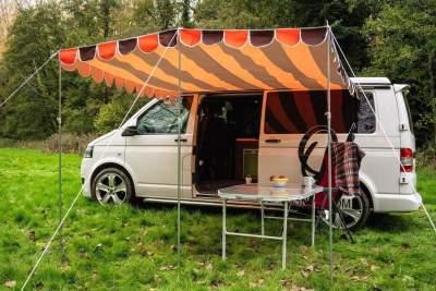 OlPro Campervan sun canopy shade