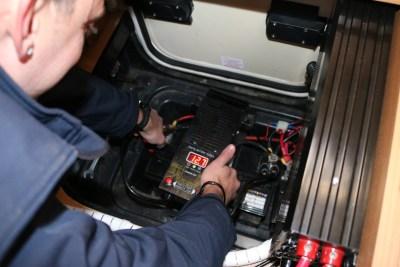 motorhome battery checks