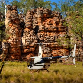 Helicopter at lost City