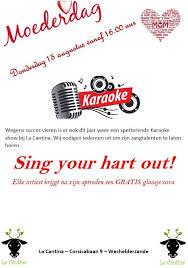 Moederdag Karaoke
