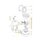 Caravan Toilets & Showers: Thetford C200 Spare Parts