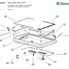 Parts Of A Window Frame Diagram 1989 Ford F150 Wiring Caravansplus Spare Seitz Midi Heki Roof