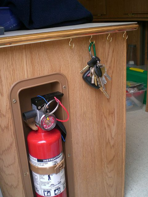 Fire Extinguisher Position  DIY additions and