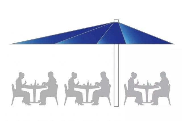 Icon Sonnenschirm Big Ben Freestyle