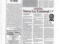 La nueva Ley Concursal II