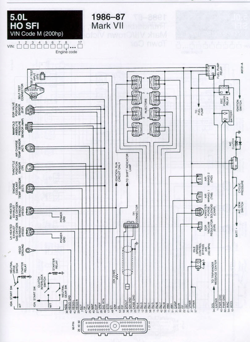hight resolution of  diagram jaguar mark 7 wiring carbed ford message board u2022 view topic 86 87 efi wiring lincoln86 87 efi wiring