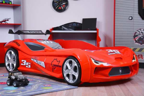 Maserati Turismo Sport Race Car Bed - Red Kids