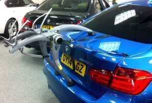 BMW 7 Series Bike Rack