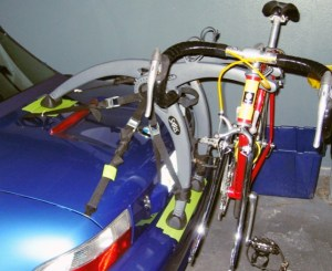 BMW Z3 Bicycle Rack