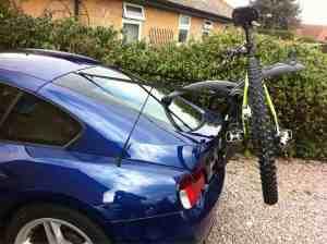 BMW Z4 Coupe Bike Rack