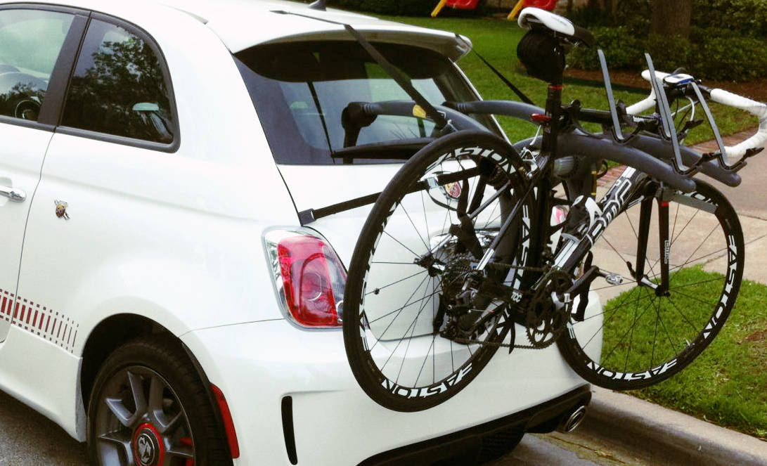 fiat  bike rack modern arc based design holds    bikes