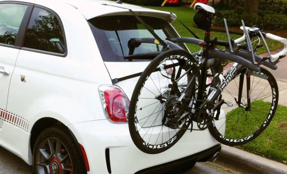Fiat 500 Bicycle Rack