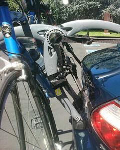 Jaguar XK8 XK Convertible Bike rack
