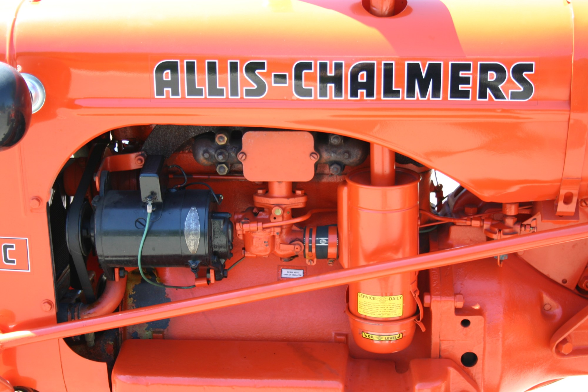 hight resolution of allis chalmers 2 detail
