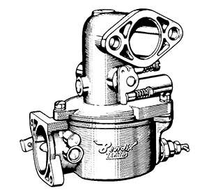 Zenith 12921 Carburetor Kit, FLoat and Manual
