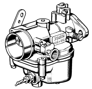 Zenith 13744 Carburetor Kit, FLoat and Manual