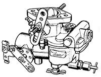 CK942 Carburetor Repair Kit for Zenith Model 68 Carburetors