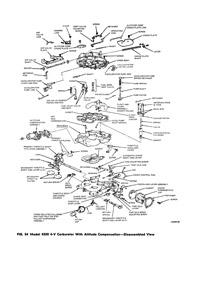 CK137 carburetor kit for Ford/Motorcraft 4350