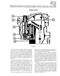 CK728 Carburetor Rebuild Kit Holley 2300 With Governor