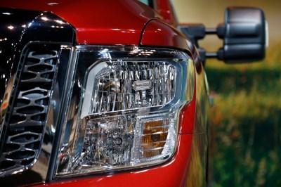 2017 Nissan Titan King Cab at Chicago Auto Show