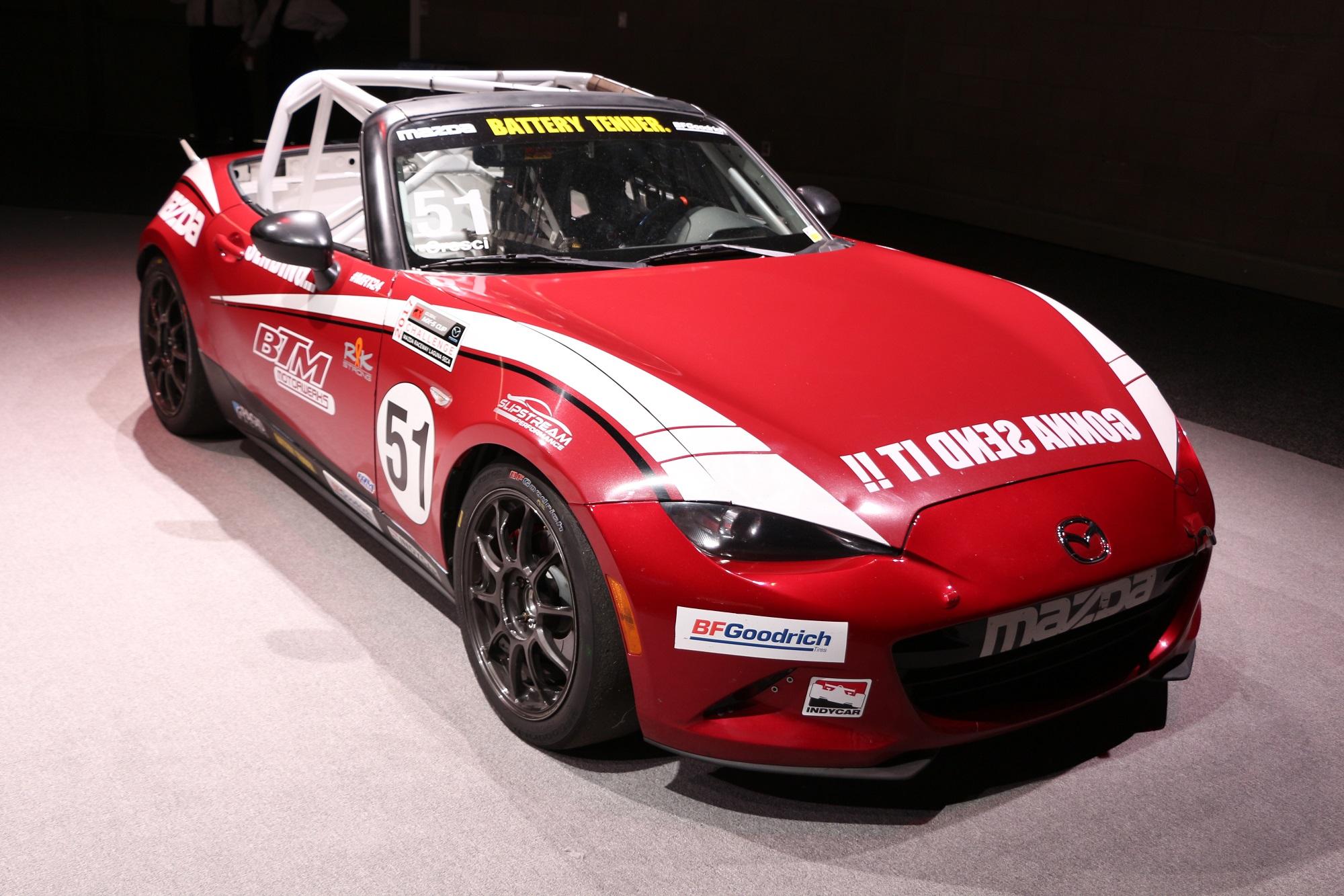 carblog.com Mazda Miata ND race car MX5 MX-5 Cup
