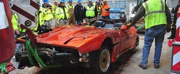 1962 Corvette Damaged by Sinkhole Resurfaces in a New Light