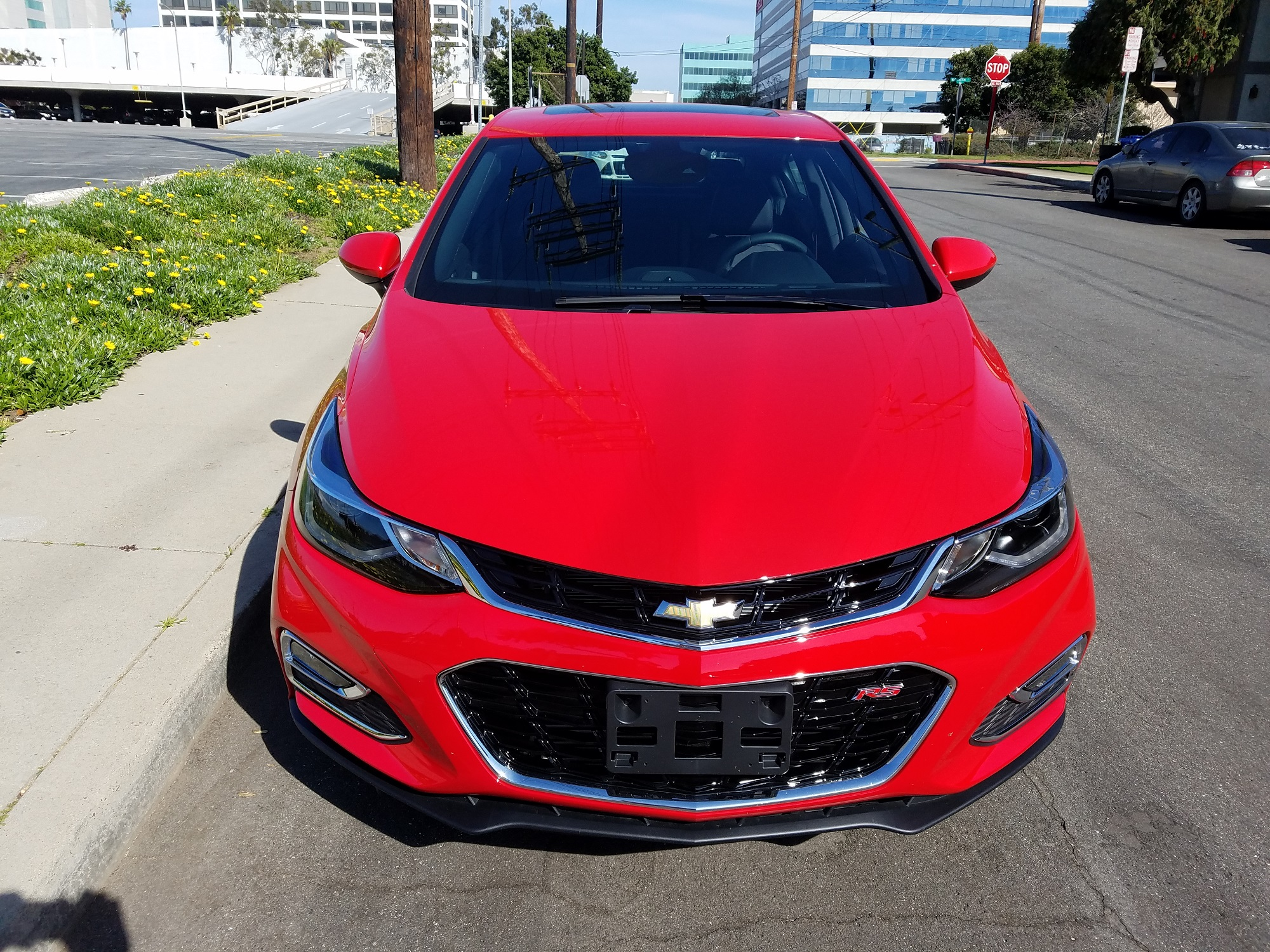 carblog.com 2017 2018 Chevy Chevrolet Cruze RS Hatchback New Car Review