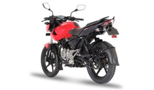 Bajaj Pulsar 135 LS Cocktail-Wine-Red-rear-angle-images-2