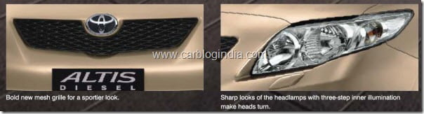 toyota corolla altis diesel india new grille