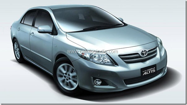 Toyota Corolla Altis 2011 Facelifted (2)