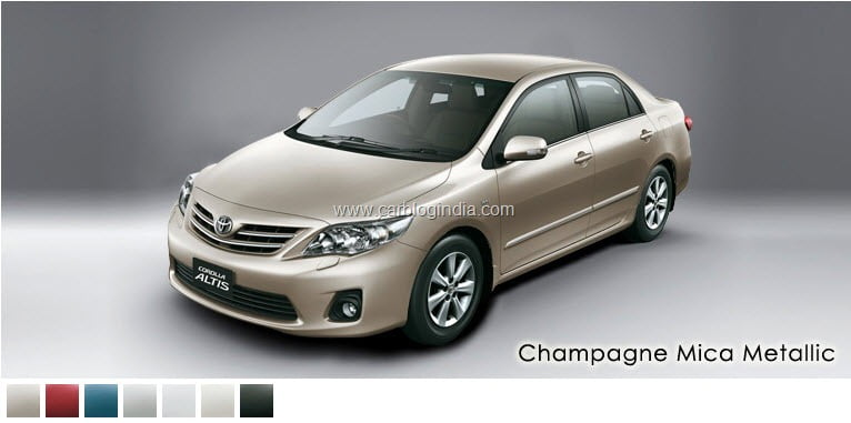 new corolla altis launch date in india toyota agya trd sportivo 2011 model launched officially price colors options