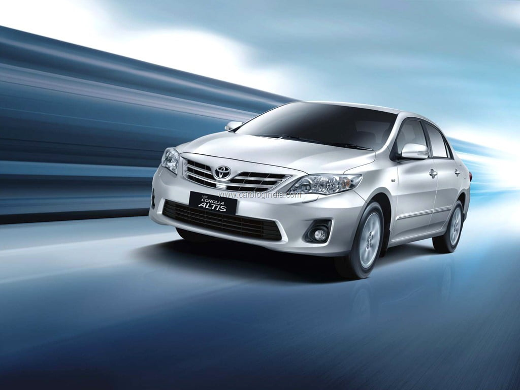 new corolla altis launch date in india all alphard 2011 model toyota launched officially