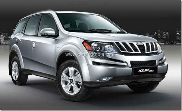 Mahindra XUV500 With Voice Command Technolgy In India