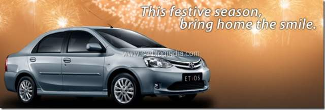 Etios Diwali Offer