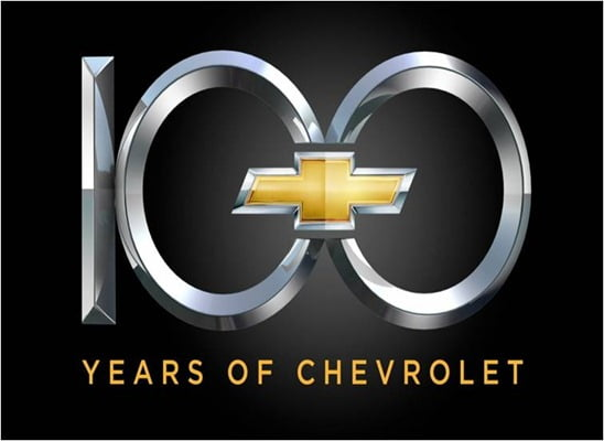 Chevrolet Completes 100 Years