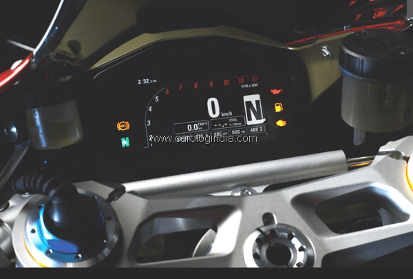 Ducati 1199 Panigale instrument cluster