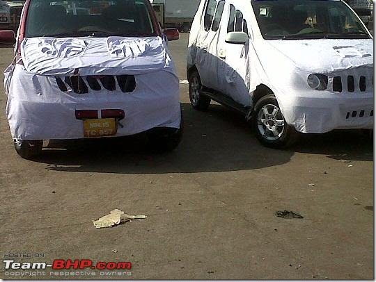 Mahindra Xylo Spy Pictures