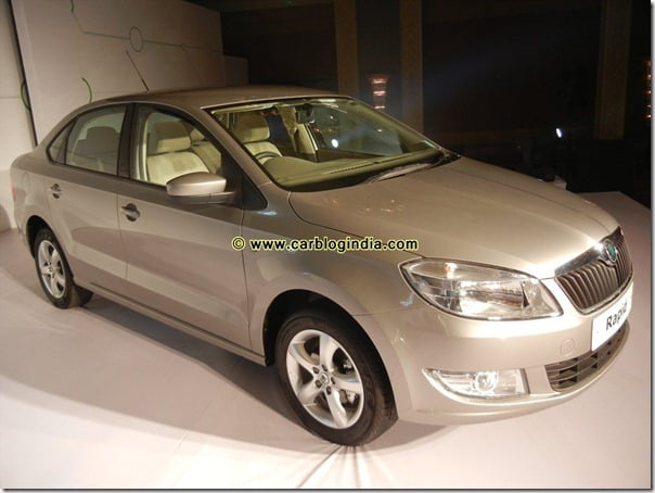 Skoda Rapid India Interior and Exterior Pictures (18)
