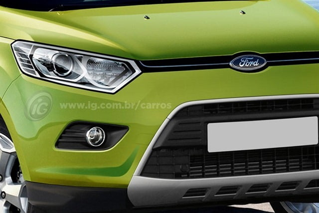 Ford Ecosport Rendering (4)