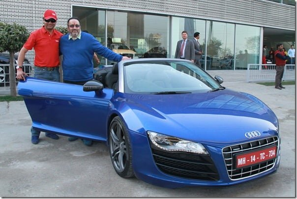 Audi Customers at the Audi R-Drive__